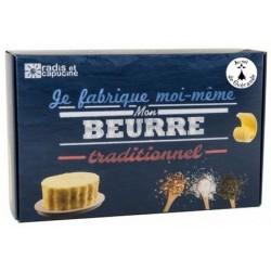 Je fabrique moi même mon beurre