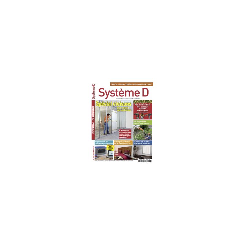 Système D n°839 - Décembre 2015