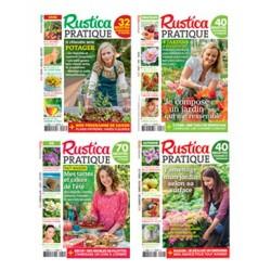 Lot de 4 Rustica Pratique 2016 - Le pack Complet du Jardinier