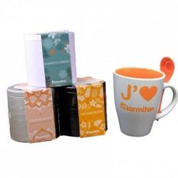 Lot de deux : Le mug marmiton et ses 3 boites à thé