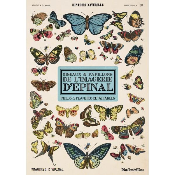 Histoire naturelle : oiseaux et papillons de l'imagerie d'Épinal