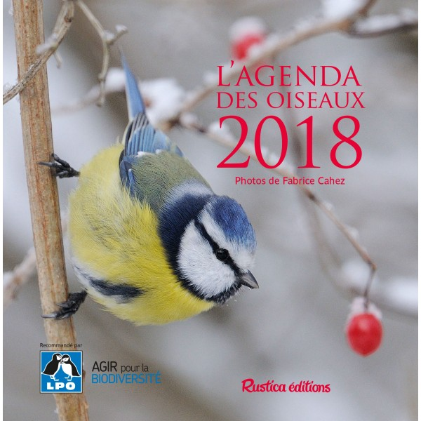 L'agenda des oiseaux 2018