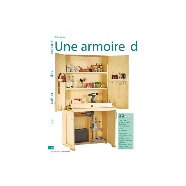 une armoire d atelier. Black Bedroom Furniture Sets. Home Design Ideas