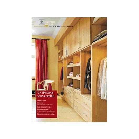 un dressing sous comble. Black Bedroom Furniture Sets. Home Design Ideas