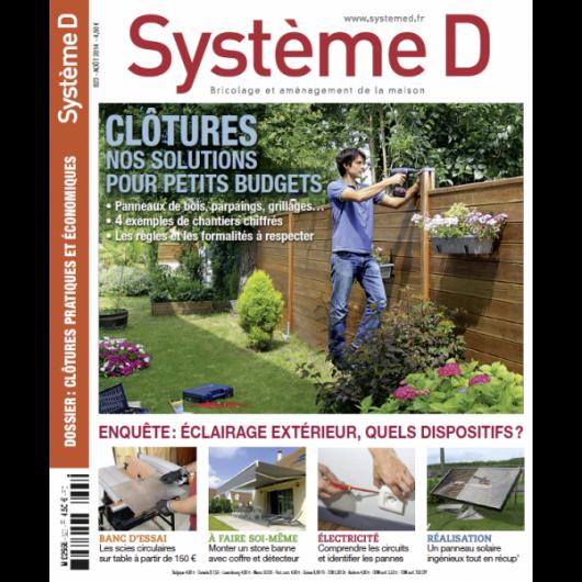 Système D n°823 (Août 2014)