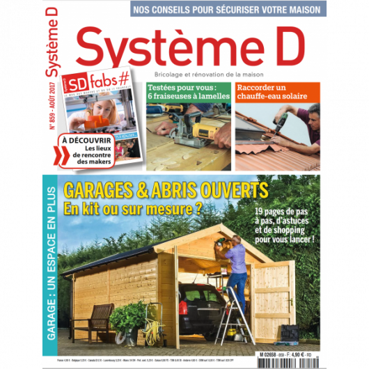 Système D n°859 (Août 2017)