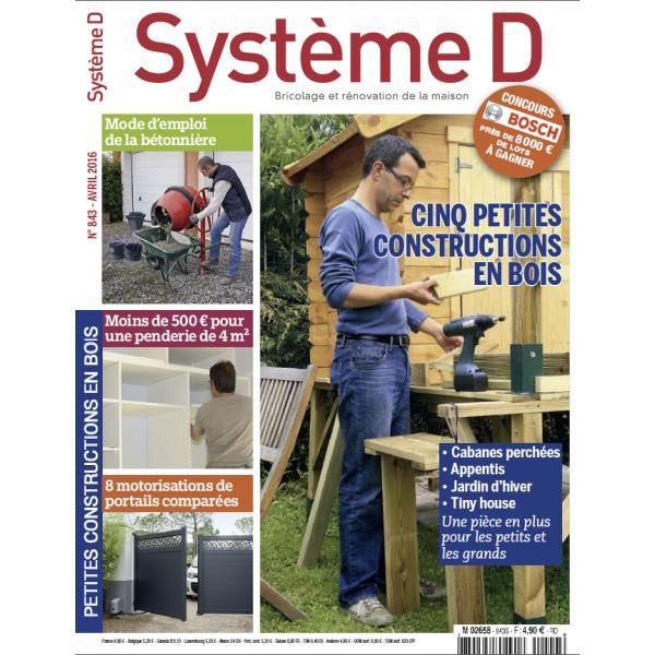 Système D n°843 (Avril 2016)
