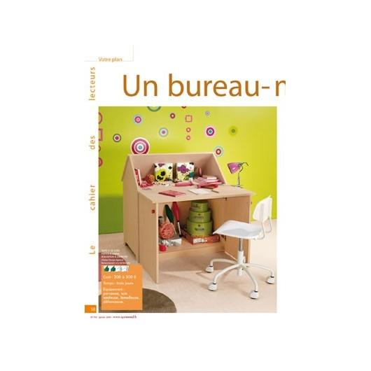 Un bureau maison pour enfants for Plan de maison pour enfant