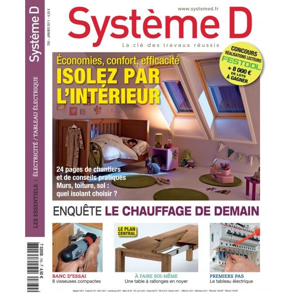 Système D n°780 (Janvier 2011)