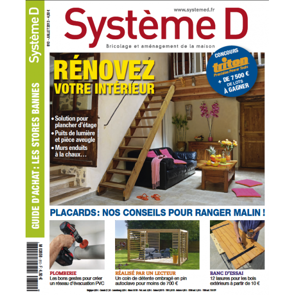 Système D n°810 (Juillet 2013)