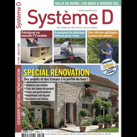 Système D n°834 (Juillet 2015)