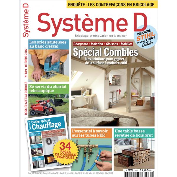 Système D n°849 (Octobre 2016)