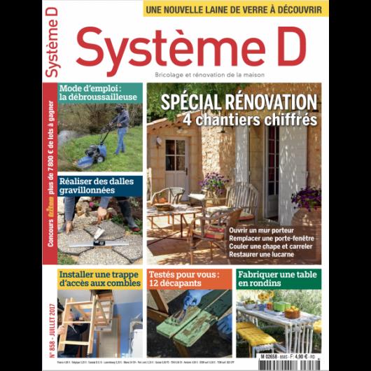 Système D n°858 (Juillet 2017)
