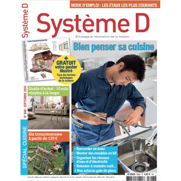 Système D n°848 (septembre 2016)