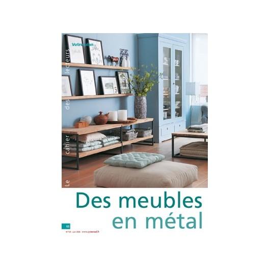 des meubles salon en m tal et bois. Black Bedroom Furniture Sets. Home Design Ideas