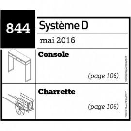 Console - Charrette - Plan téléchargeable au format PDF
