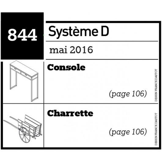 Console - Charrette - Plan envoyé par courrier au format papier