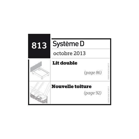 Lit double - Nouvelle toiture - Plan téléchargeable au format PDF