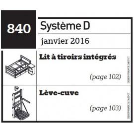 Lit à tiroirs intégrés - Lève-cuve - Plan téléchargeable au format PDF