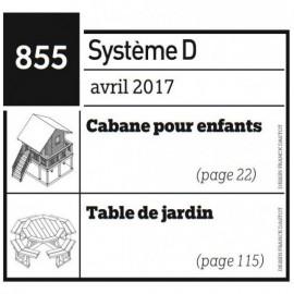 Cabane pour enfants + Table de jardin - Plan téléchargeable au format PDF