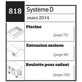 Piscine - Extension maison - Roulotte pour enfant - Plan téléchargeable au format PDF