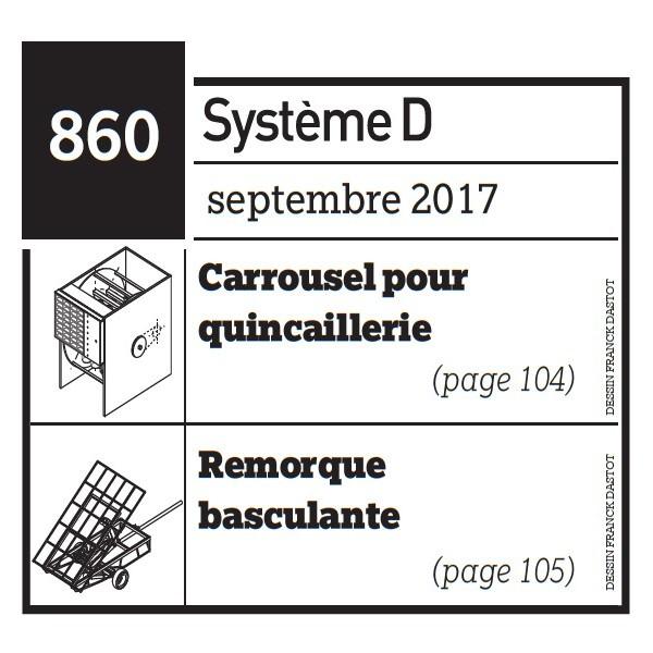 Carrousel pour quincaillerie + Remorque basculante - Plan téléchargeable au format PDF