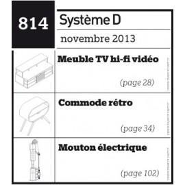 Meuble TV hi-fi vidéo - Commode rétro - Mouton électrique - Plan téléchargeable au format PDF