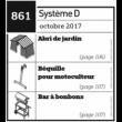 Abri de jardin + Béquille pour motoculteur + Bar à bonbons - Plan téléchargeable au format PDF