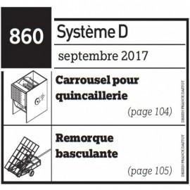 Carrousel pour quincaillerie + Remorque basculante - Plan envoyé par courrier au format papier