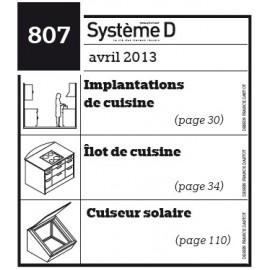 Implantations en cuisine - Ilot de cuisine - Cuiseur solaire - Plan téléchargeable au format PDF