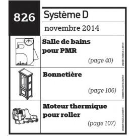 Salle de bains pour PMR - Bonnetière - Moteur thermique pour roller - Plan téléchargeable au format PDF
