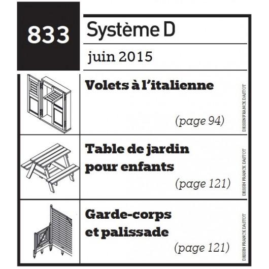 Volets à Litalienne Table De Jardin Pour Enfants Garde Corps Et Palissade