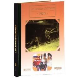 Collection Livres Années Mémoire - 1920