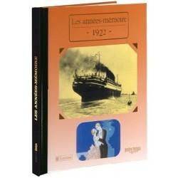 Collection Livres Années Mémoire - 1922