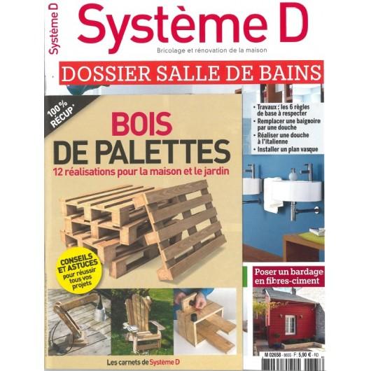 Système D 865 spécial Salle de bains + carnet Bois de Palettes
