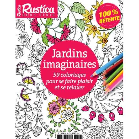 Coloriages Jardins Imaginaires