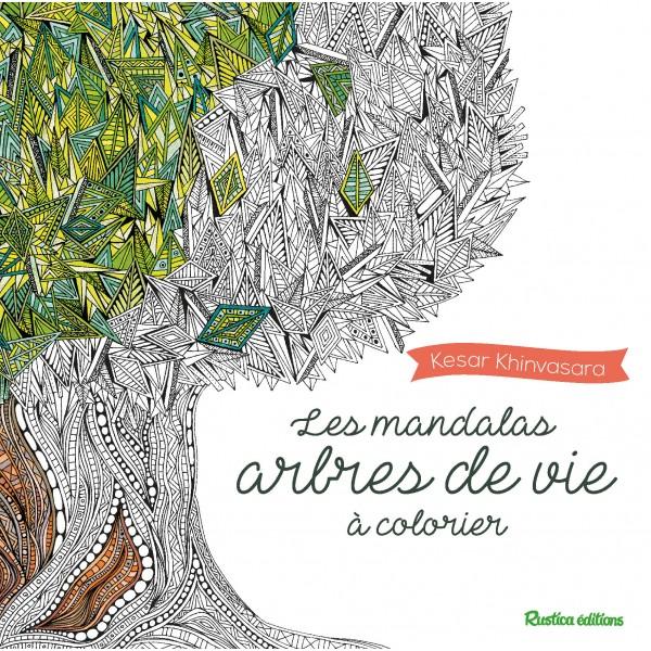 Coloriage Jardin Arbres.Les Mandalas Arbres De Vie A Colorier