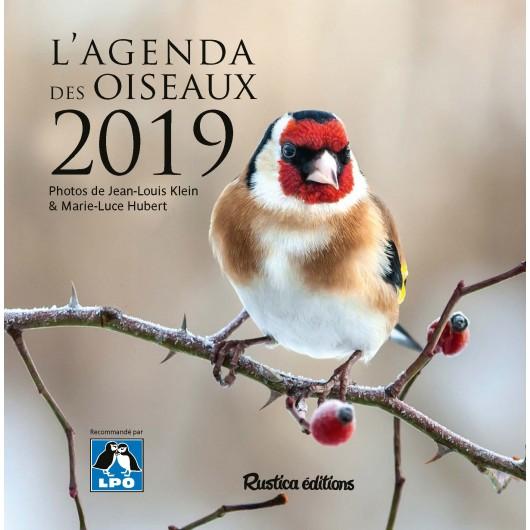L'agenda des oiseaux 2019