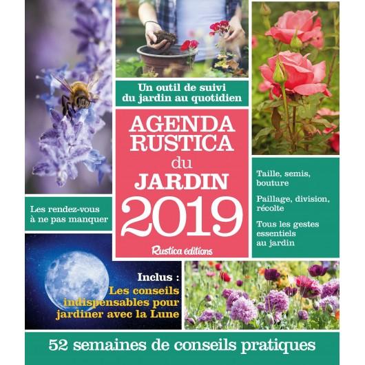 Agenda Rustica du jardin 2019