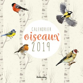 Calendrier oiseaux 2019
