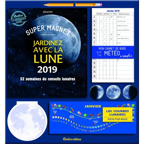 Super magnet Jardinez avec la Lune 2019