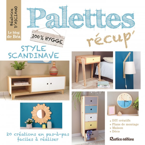 Palettes récup' style scandinave