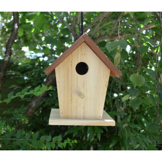 cabane oiseaux en bois. Black Bedroom Furniture Sets. Home Design Ideas