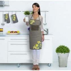 set de cuisine tablier gant manique. Black Bedroom Furniture Sets. Home Design Ideas