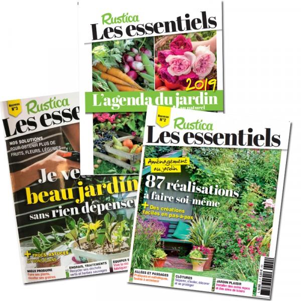 Rustica 3 essentiels sp cial conomies agenda du jardin am nagement jardin - La boutique du jardin ...