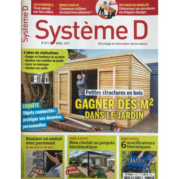 Système D n°879 (Avril 2019) - Gagner des m2 dans le jardin