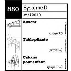 Plans Auvent Table Pliante Cabane Pour Enfant Pdf