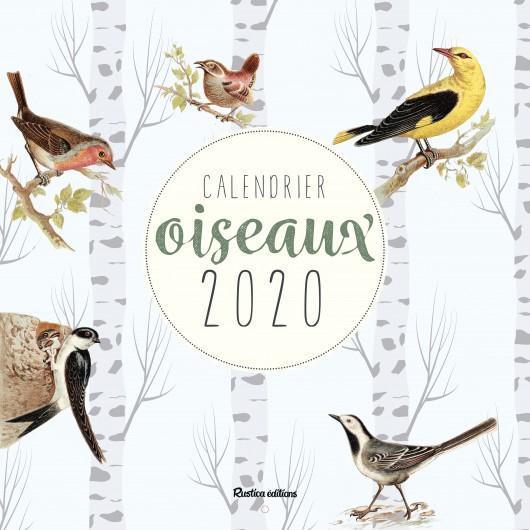 Calendrier Oiseaux 2020
