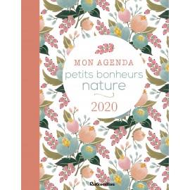 Mon agenda petits bonheurs nature 2020