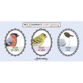 Mes 3 charmants livres oiseaux